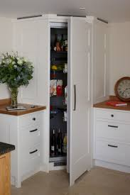 23 best kitchen design images on pinterest architecture kitchen a corner fridge with white wood paneling to match the kitchen units a fantastic storage