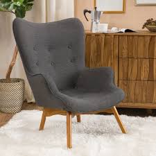 Armchair Toilet Langley Street Canyon Vista Mid Century Wingback Chair U0026 Reviews
