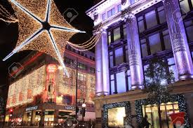 london uk november 10 2011 the christmas lights decorations