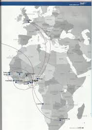 Easyjet Route Map by The Timetablist September 2013