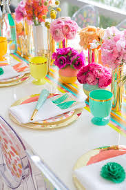 oh joy target colourful wedding decor table oh joy target bespoke bride wedding