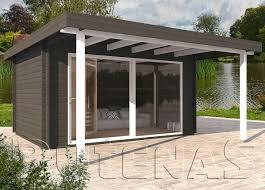 gartenhaus design flachdach gartenhaus mit flachdach my