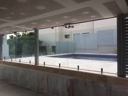 sydwest fencing frameless glass pool fence oyster bay