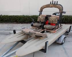 the craigcat camo edition is the perfect small power boat for the