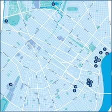 New Orleans On Map New Orleans Museum Month Many Museums One Membeship