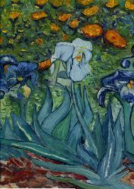 Iris Flag Van Gogh U0027s Iris Flag Mad About Gardening