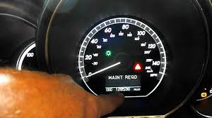 reset maintenance light on lexus rx400h hybrid youtube