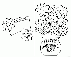 coloring pages mothers day flowers mothers day printable coloring pages for grandma 15683