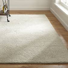 ivory rugs alfredo ivory wool rug crate and barrel