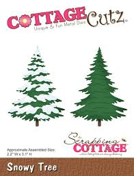 cottagecutz snowy tree