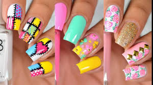 nail designs compilation nail designs simple and easy for