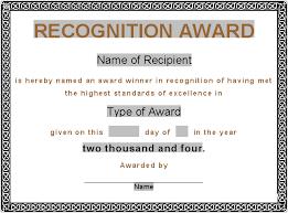 award certificate template award certificates award certificate