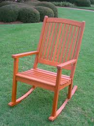 Wooden Rocking Chair Outdoor Outdoor Rocking Chairs And Rockers Organize It