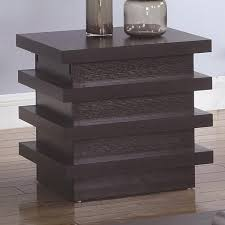 value city coffee tables and end tables coaster 72119 rectangular end table with storage compartment value