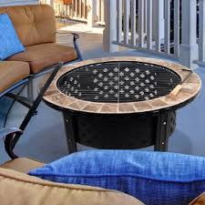 Steel Or Aluminum Patio Furniture Stainless Steel Outdoor Fireplaces U0026 Fire Pits You U0027ll Love Wayfair
