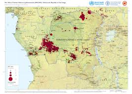Republic Of Congo Map Who Mapping The Distribution Of Human African Trypanosomiasis