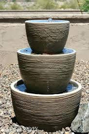 Tiered Backyard Landscaping Ideas 137 Best Water Fountains For The Yard Images On Pinterest Water
