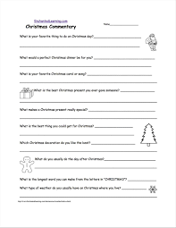 christmas present writing template christmas roll a story freebie