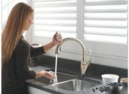 touch kitchen faucet amusing delta touch faucet cool great no kitchen with on