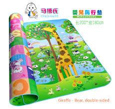 tappeti puzzle bambini imiwei stuoia gioco bambino tappetino per bambini in via