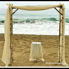 wedding arch log birch wedding arch arbor kit northern boughs online store