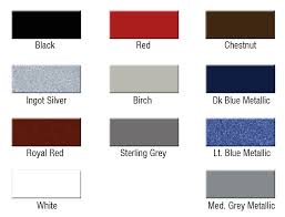 new stock trailers titan color chart mid plains equipment