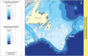 Map Of Newfoundland Canada by Archived Base Maps The Grand Banks Of Newfoundland Atlas Of