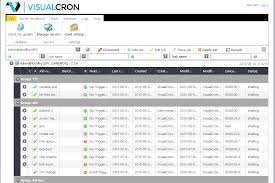how to schedule a task in windows visualcron windows scheduling software and task automation