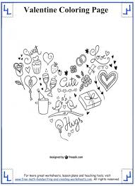 Handwriting Worksheets 4th Grade Valentines Day Coloring Pages Printable Archives Gobel Coloring Page