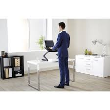 Stand Or Sit Desk by Portable Folding Sit Stand Desk Officeworks