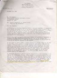 Demand Letter From Attorney by Nsa 1990 Accident Mystery Cop Burlington Wi
