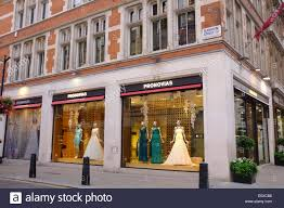wedding dress shops london pronovias wedding dress shop in london stock photo 72495228 alamy