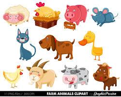 50 off premium farm animals clip art vectors farm animals zoom
