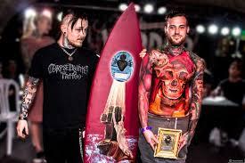 1st place best of show julian siebert corpsepainter tattoo