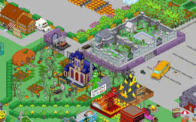halloween city game springfield showoff deathly hallowsthe simpsons tapped out