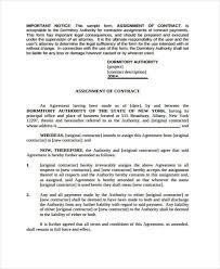 assignment agreement template personal loan between friends