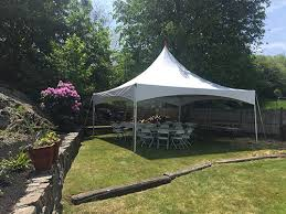 backyard tent rental marblehead tent event party rentals gallery page serving