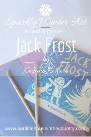 sparkly winter art based on jack frost by kazuno kohara our