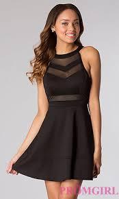 semi formal dress sleeveless black dress promgirl