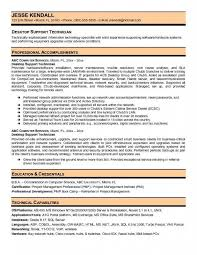 Information Technology Resume Samples by Desktop Support Technician Resume U2013 Resume Examples
