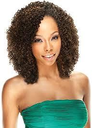 human curly hair for crotchet braiding amazon com 3 packs deal jerry curl crochet hair braid biba