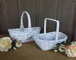 wedding program basket wedding program basket etsy