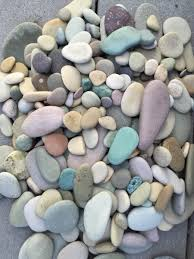River Rock Garden by Colorful River Rocks From Alaska Pastel Stones Garden Decor