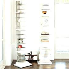 wall mounted bookcase white u2013 plnr me
