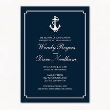 nautical themed wedding invitations 33 nautical wedding invitations anchor vizio wedding