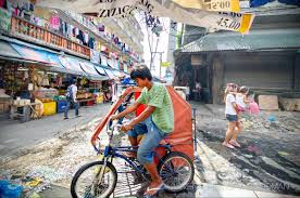 philippine pedicab what does traffic look like in the philippines greg goodman
