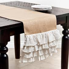 tablecloths runners for your feast cottage style decorating