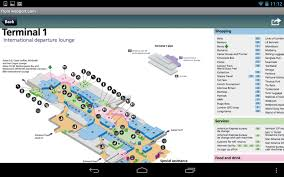Chicago Ohare Terminal Map by Heathrow Airport Android Apps On Google Play