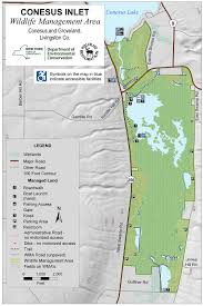 Finger Lakes New York Map by Conesus Inlet Wma Map Nys Dept Of Environmental Conservation