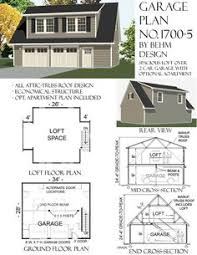 Barn Plans With Loft Apartment Garage Plans With Loft 1224 2 34 U0027 X 24 U0027 For The Home